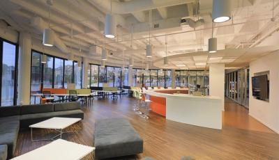 Tech Office Space 3D Model