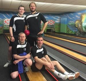 Jonas Müller, Udo Reinker, Björn van Raalte und Frank Reinker (von oben links nach unten rechts) machten jetzt den Meistertitel klar. Foto: Andrew Termöllen