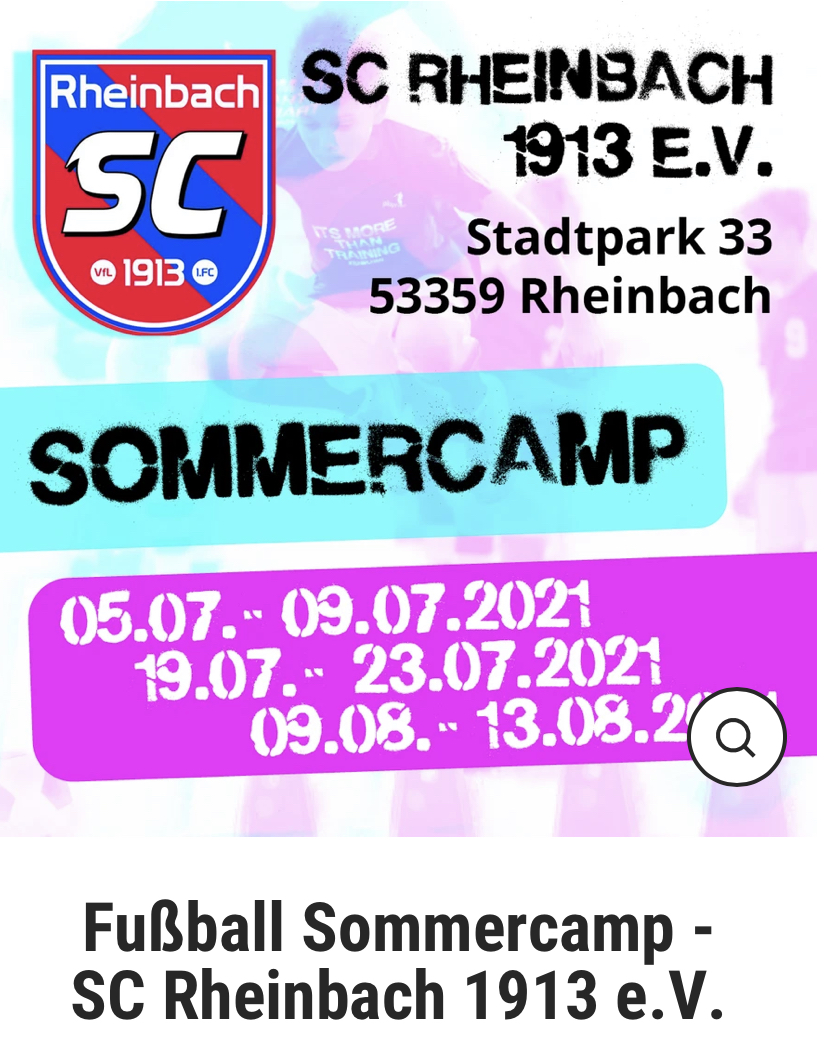 2021_07_08 Sommercamps