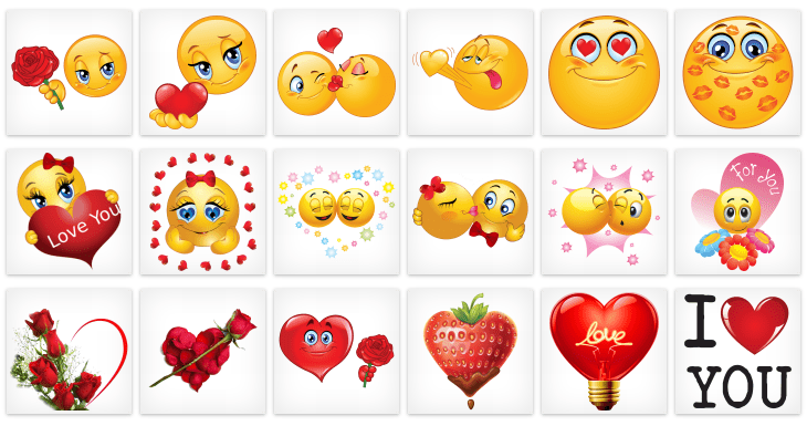 Facebook Emoticons For Valentines Day