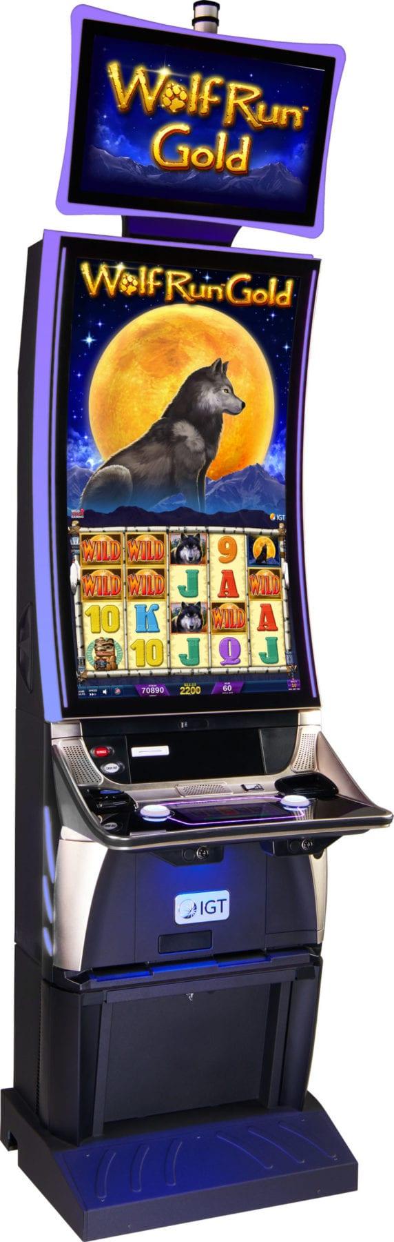 Wolf Run Gold Cabinet