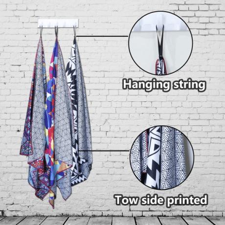 Sublimation polyester sandfree fashion custom beach towel wholesale