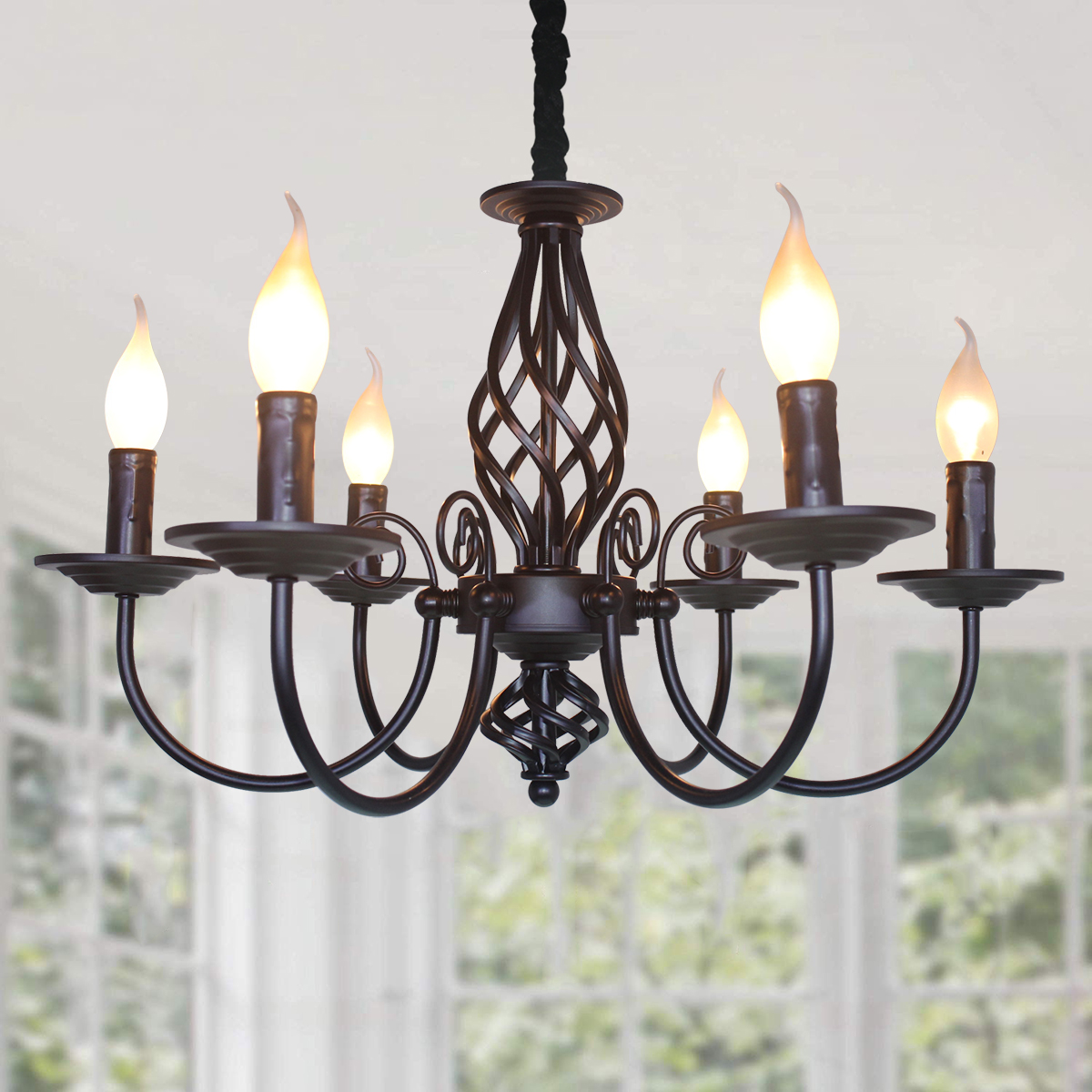 french country chandelier amazon hot selling 6 lights vintage candle chandelier farmhouse pendant light fixture buy vintage chandelier for kitchen