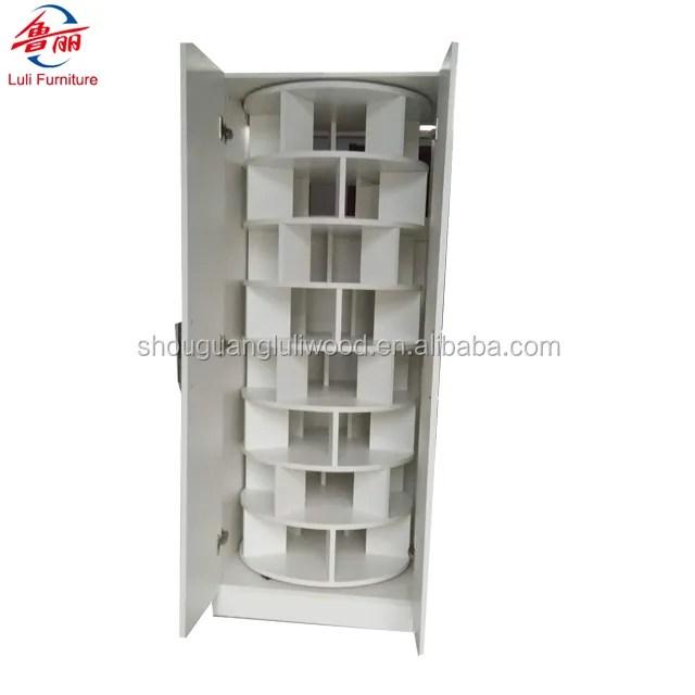 corner white rotating shoe rack 7tier saving space shoe cabinet buy large revolving shoe cabinet spinning shoe cabinet organizer rotating show tower