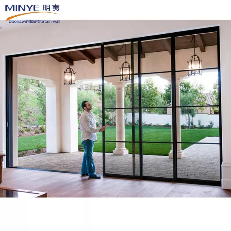 china supplier reflective stacking sliding glass doors wood frame sliding door hot sale buy top quality sliding glass doors with fly screen china