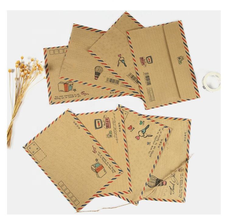 Venta al por mayor sobres para cartas decorados-Compre online los ...