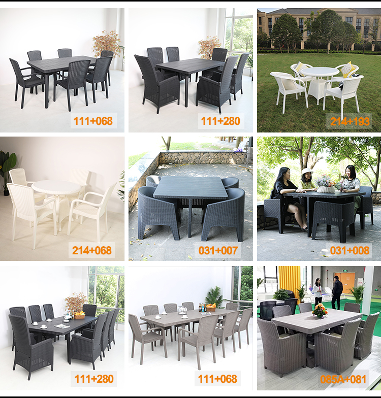 rattan plastic outdoor patio furniture table and chair 5pcs garden dining set buy dining set outdoor furniture rattan plastic outdoor patio