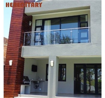 Factory Prices Modern Design Decorative Indoor Stainless Steel | Tempered Glass Stair Railing | Made Glass | Wood | Step | Indoor | Glass Design