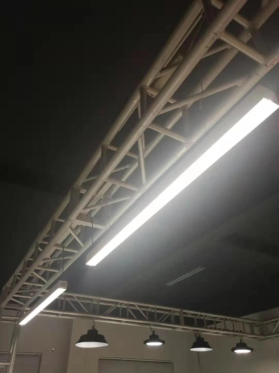 led linear light fixture architectural suspended channel light linkable 4ft 36w office lighting buy rope lamp custom lighting led linear pendant