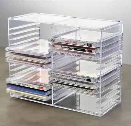 acryl cd tower oder klares acryl dvd display rack 30 cds buy klar acryl cd dvd display rack dvd rack acryl dvd lagerung product on alibaba com
