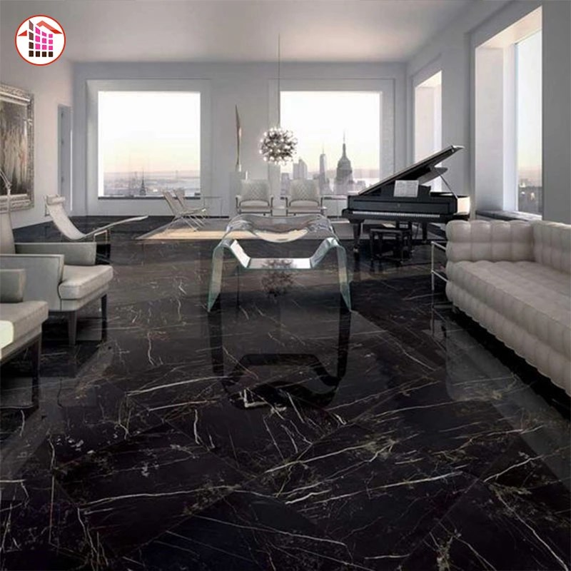 polished villa glazed italian marble tile marble tile floor black marble tile buy black marble tile nero marquina marble black marble marble price
