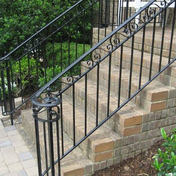 Iron Handrail For Outdoor Steps Interior Stair Railings Buy | Iron Handrails For Outdoor Steps | Deck | Simple | Outside | Free Standing | Galvanized Iron