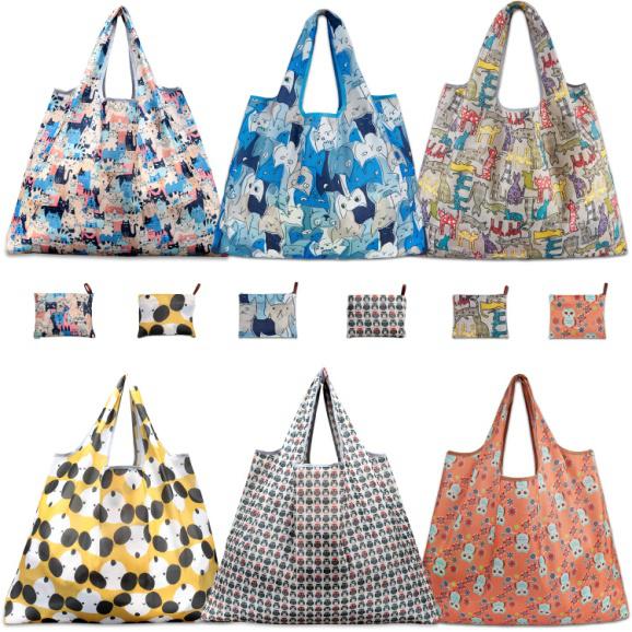 Custom Canvas Reusable Foldable Shopping Bag With Logo