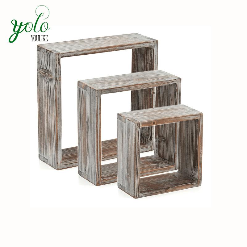 rubik s ensemble de 3 cubes en bois torsade cubes carrees de rangement affichage decoratif mural et etageres flottantes buy bois etageres