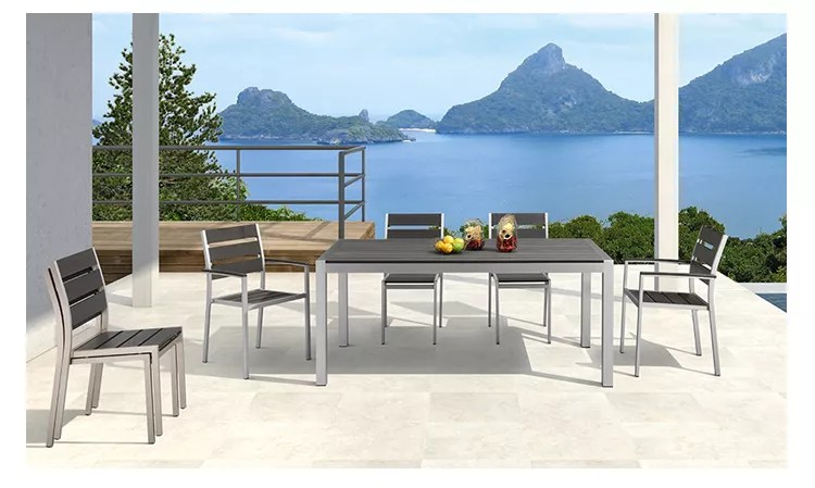 modern outdoor dining table chairs patio furniture garden sets with plastic wood buy patio furniture patio furniture outdoor patio furniture garden
