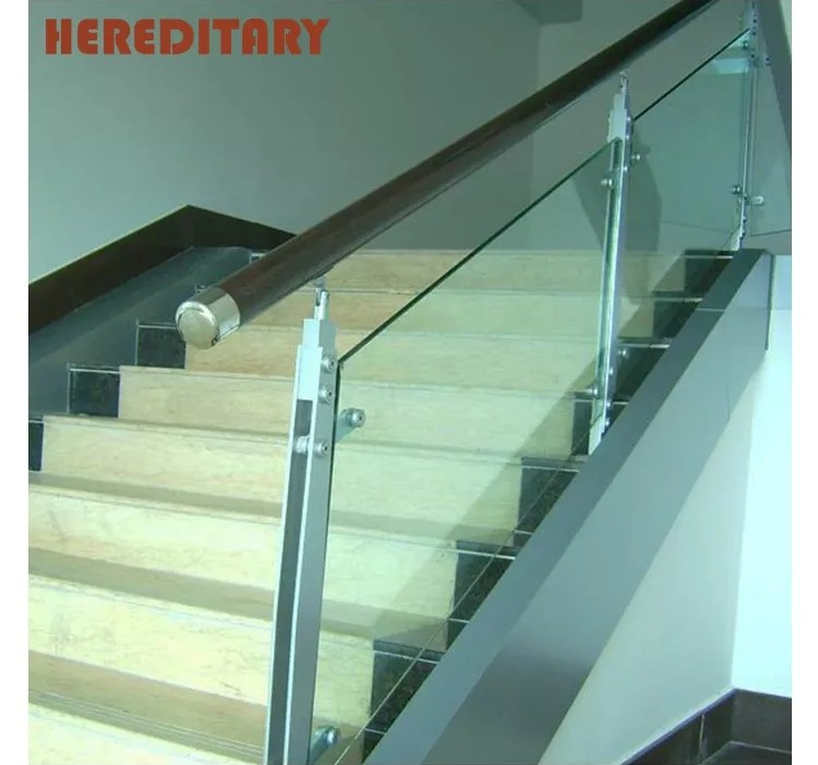 Outdoor Stair Handrail Design Stainless Steel Porch Railings Clear | Staircase Handrail Glass Designs | Frosted Glass | Curved | Glass Baluster | Glass Painting | Glass Etching