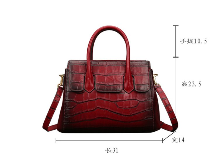designer famous brands ladies crossbody hand bags genuine leather shoulder crocodile handbag luxury purse and handbags for women