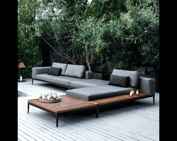 modern patio furniture teak wooden hotel outdoor garden sofa buy hotel furniture sofa outdoor sofa hotel sofa product on alibaba com