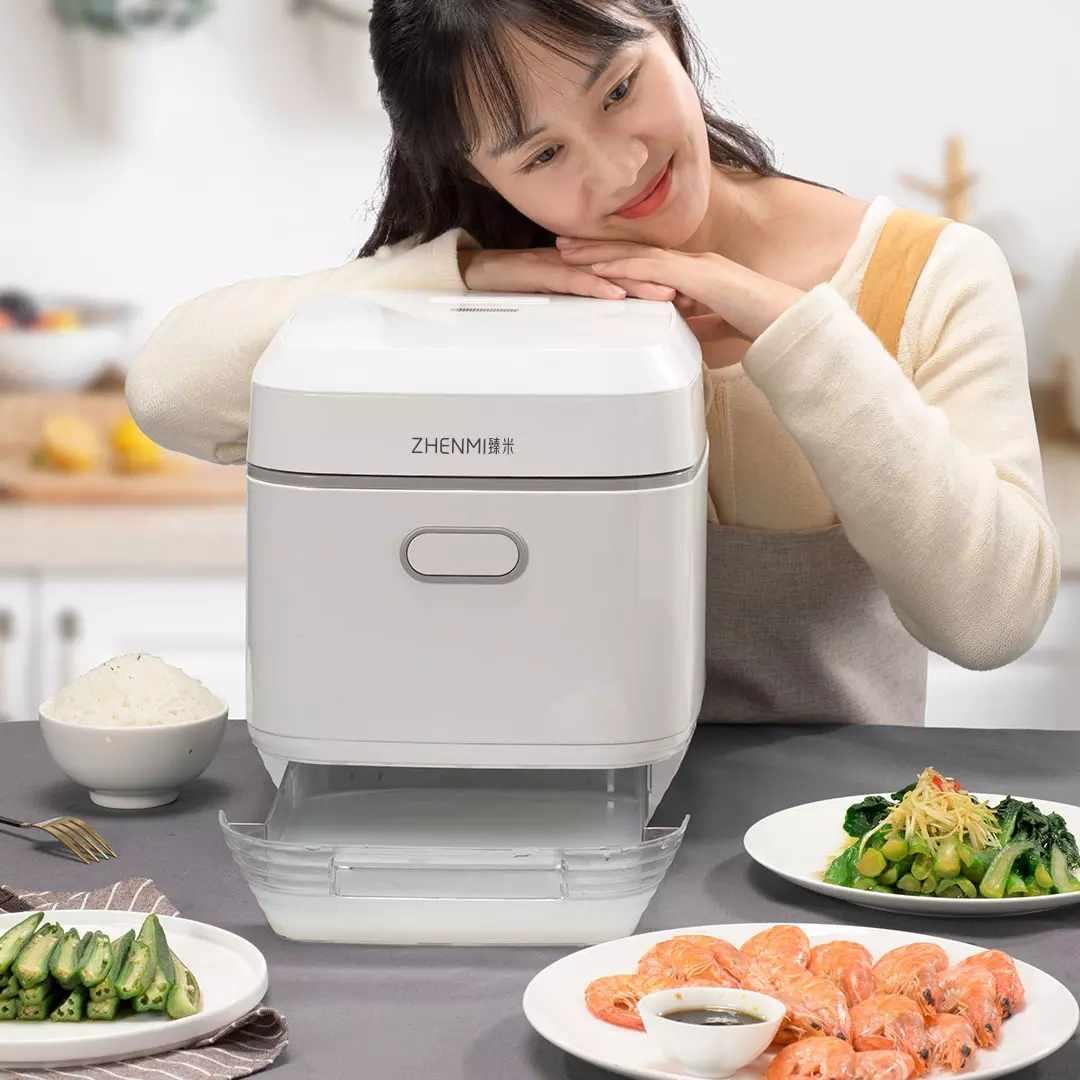 Youpin Zhenmi X3 Smart Electric Rice Cooker 4L Steam Pressure Pot Professional Desugared Health Rice Cooker