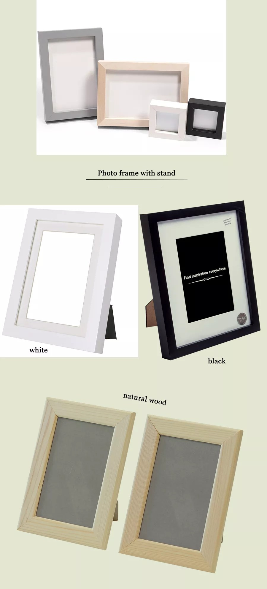 wholesale a1 a2 a3 a4 a5 4x6 5x7 6x8 8x10 11x14 12x16 12x18 16x20 18x24 20x28 24x36 black poster picture wood photo frames buy picture frame bulk