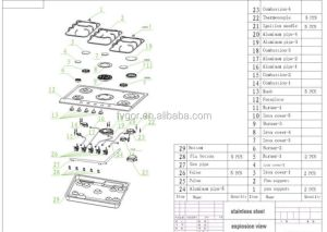 China Built In Gas Cooker Hob Spare Parts  Buy Gas Hob