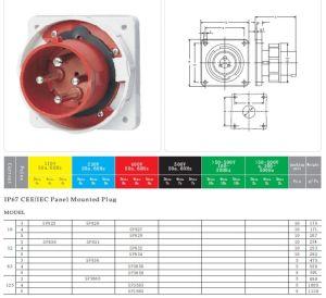 Saip Ip67 32a Industrial Plug And Socket,3 Phase Plugs And Sockets Sp826  Buy 3 Phase Plugs And