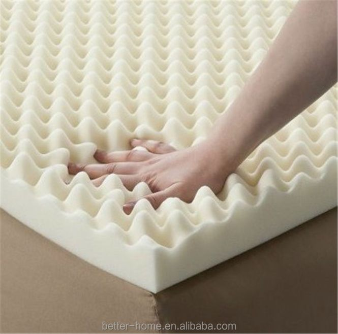 Egg Crate Foam Mattress Topper Memory