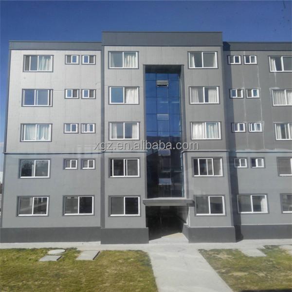 Steel Frame Apartment Prefab Multistory Building