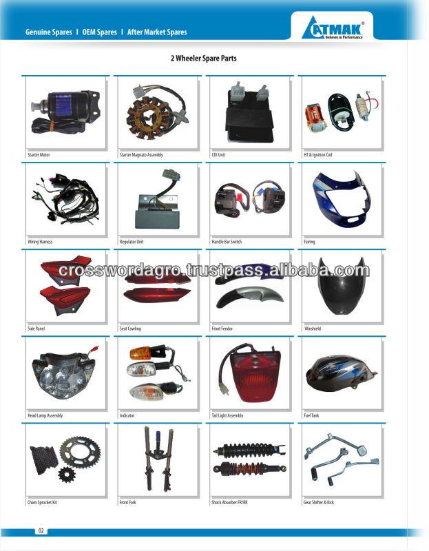 Bajaj Platina 125 Spare Parts In Srilanka Motorcycle Two Wheeler Spares Product On Alibaba Com