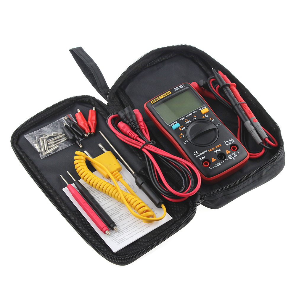 HTB1.r2Rbzgy uJjSZR0q6yK5pXa7 AN8008 AN8009 Auto Range Digital Multimeter 9999 counts With Backlight AC/DC Ammeter Voltmeter Ohm Transistor Tester multi meter