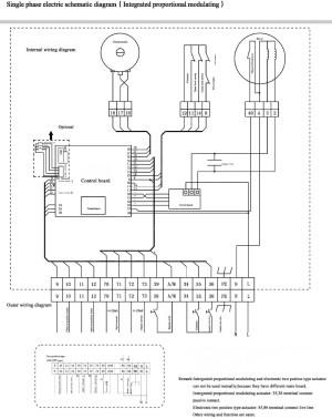 AS25K30H 420ma modulating motorized damper actuator, View motorized damper actuator, Freya