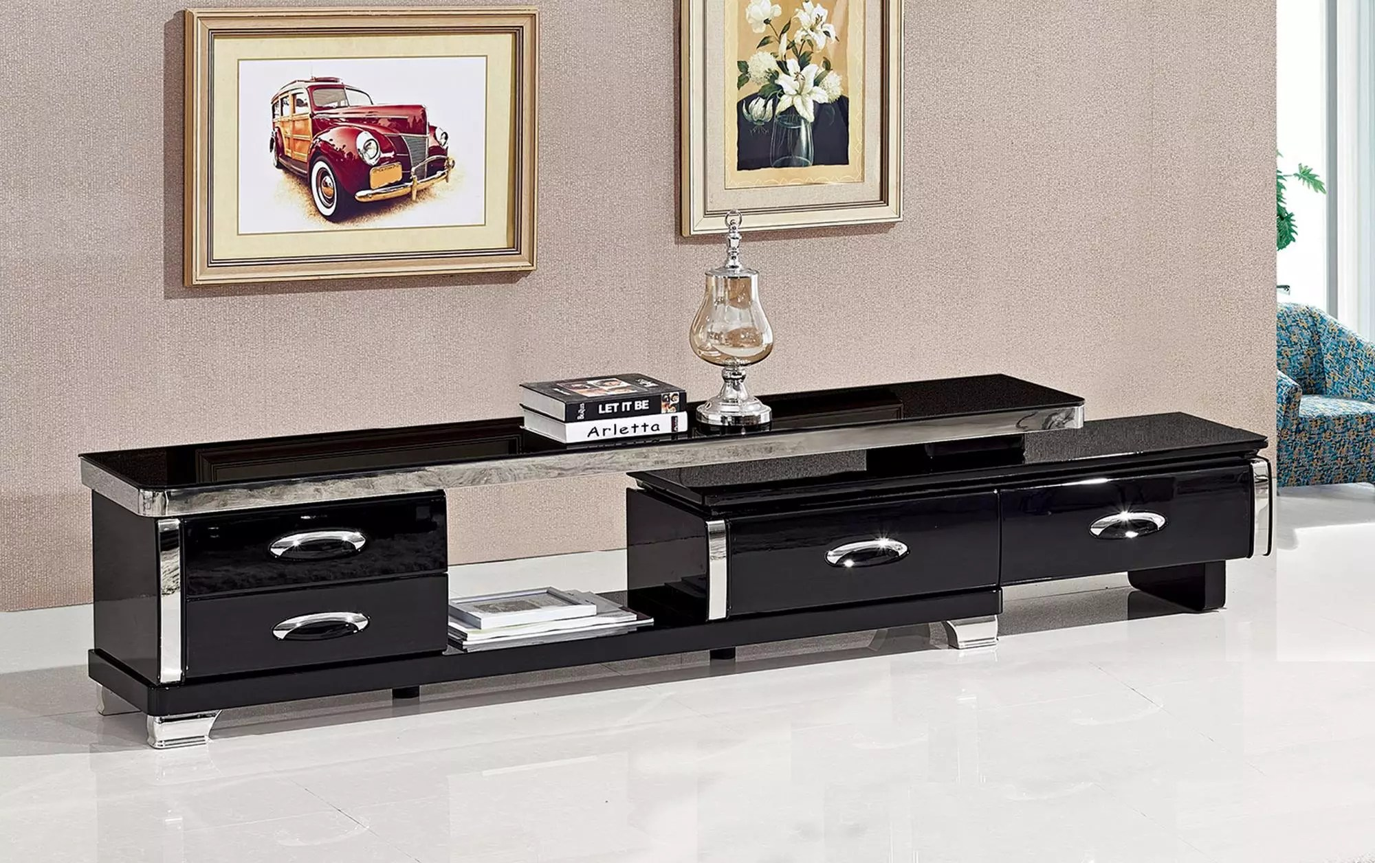 new model black glass top mirror tv table stand modern design tv stand living room table furniture buy living room table tv table stand tv stand