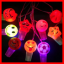 Buy light cartoon whistle, unique small LED face light toy