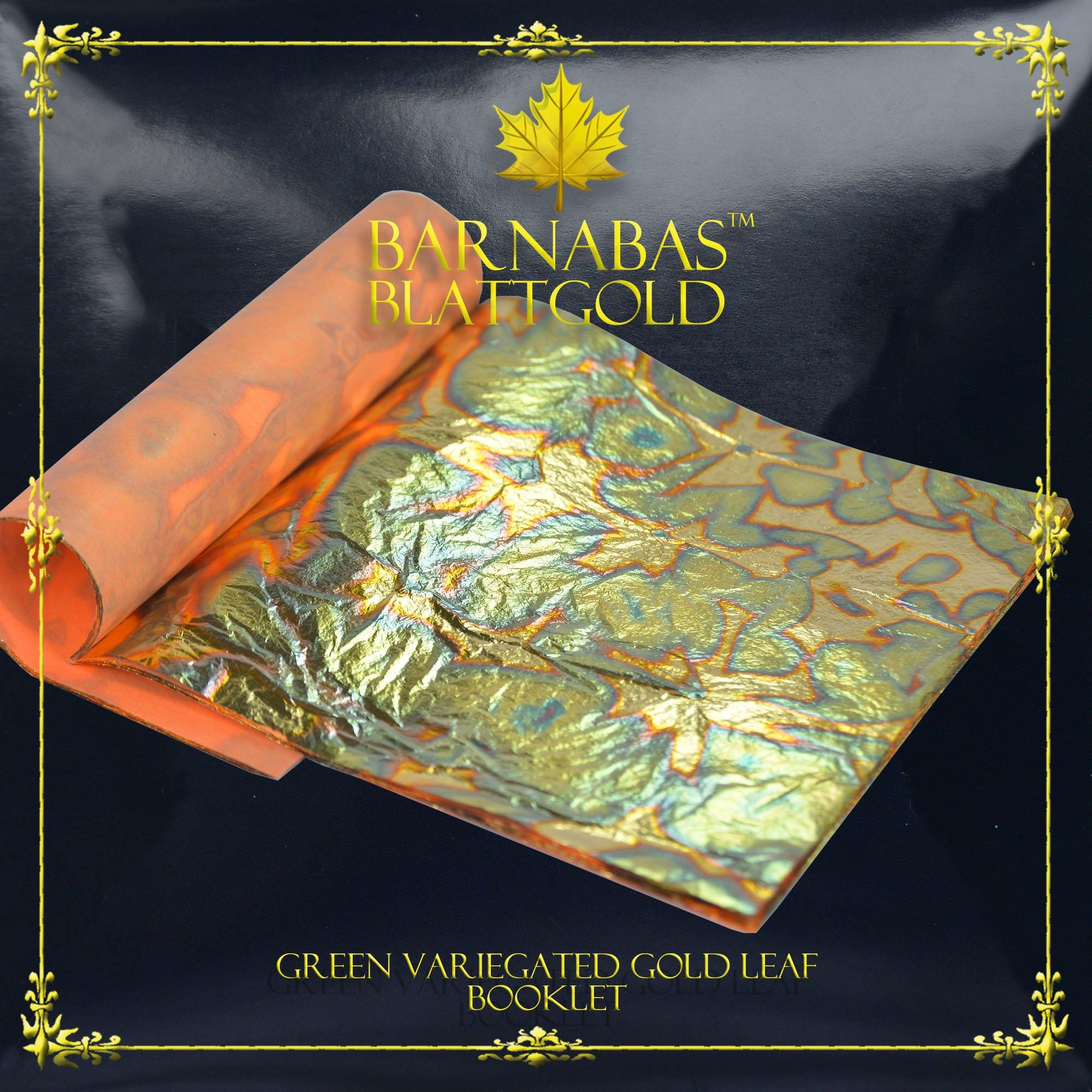 Buy Variegated Gold Leaf Sheets