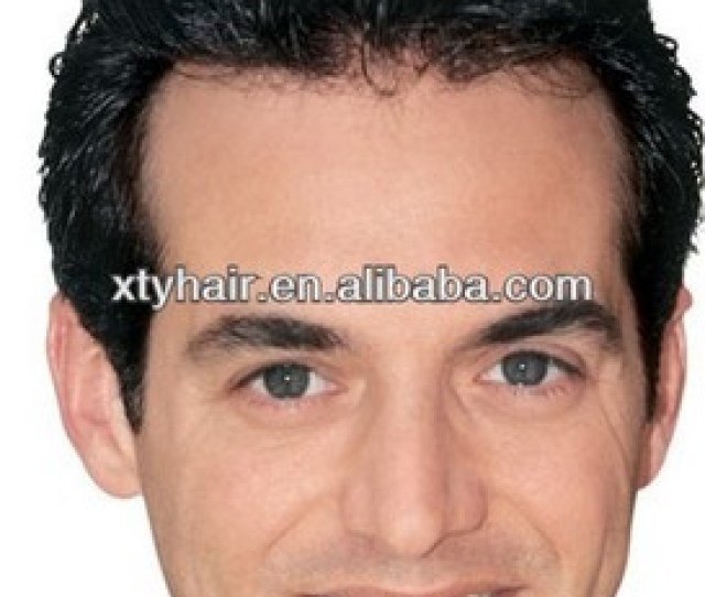 Aliexpress Hair Mens Wigs Natural Toupee For Bald Men Buy Toupee For Bald Menmens Wigstoupee Product On Alibaba Com