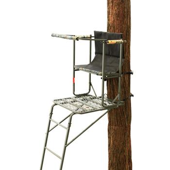 cerfs gros chasse echelle arbre stand pour la chasse