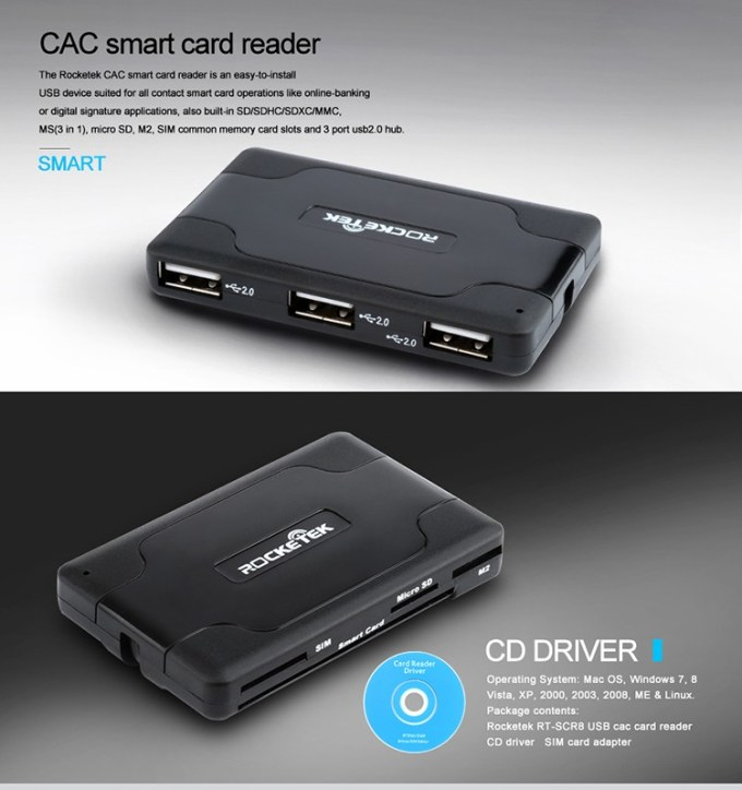 How To Install Cac Card Reader Infocards