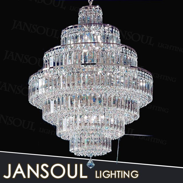 Chinese Indoor Large Modern Fancy Multi Color Vintage Light Ing Waterford Crystal Smoke Glass Chandelier For