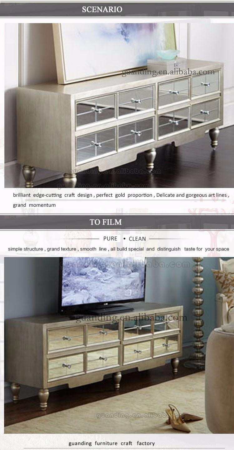 mifa meuble tv avec miroir en mdf table de luxe pour salon nouveau modele buy tv stnad table mirrored showcase tv stand table cabinet new model