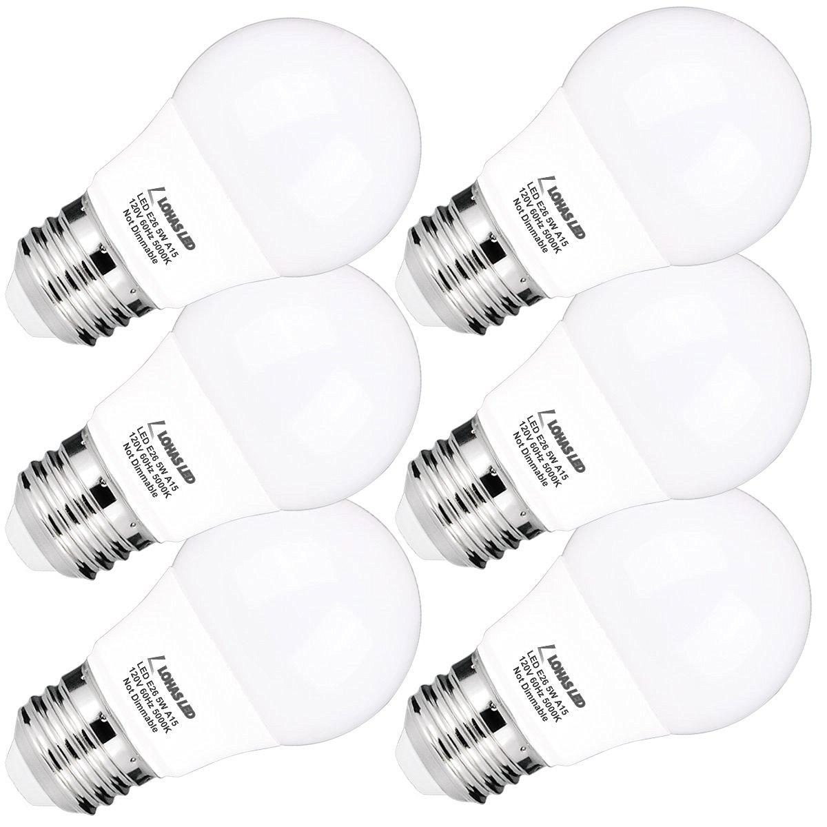 Buy Pack Of 5 5w E26 Led Bulbs 12 Volt Warm White