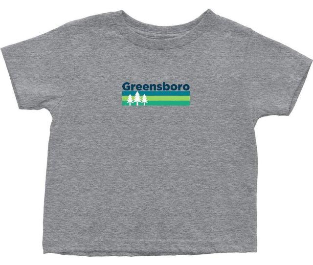 Get Quotations  C2 B7 Greensboro Retro Trees North Carolina Toddler T Shirt