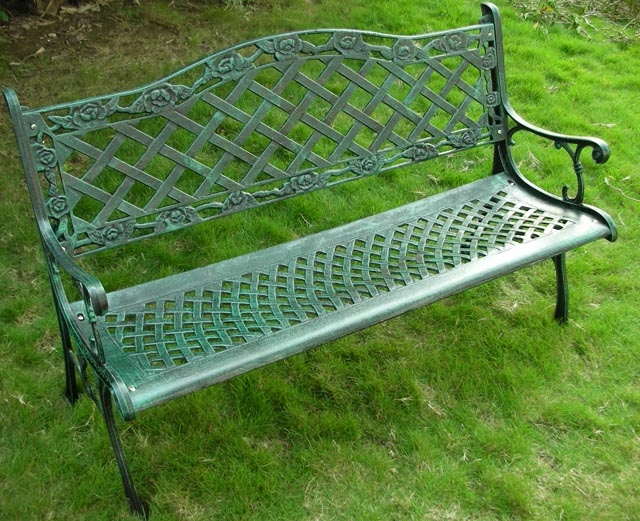 honhill banc de jardin en fer forge banc de parc en acier inoxydable pieds en metal accessoire pour parc buy wrought iron garden bench metal leg