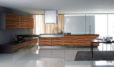 Wood Grain Cabinets Kitchen | Wooden Thing