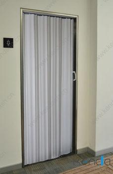 Toilet Partition Latch Plastic Slide Fold Pvc White Door
