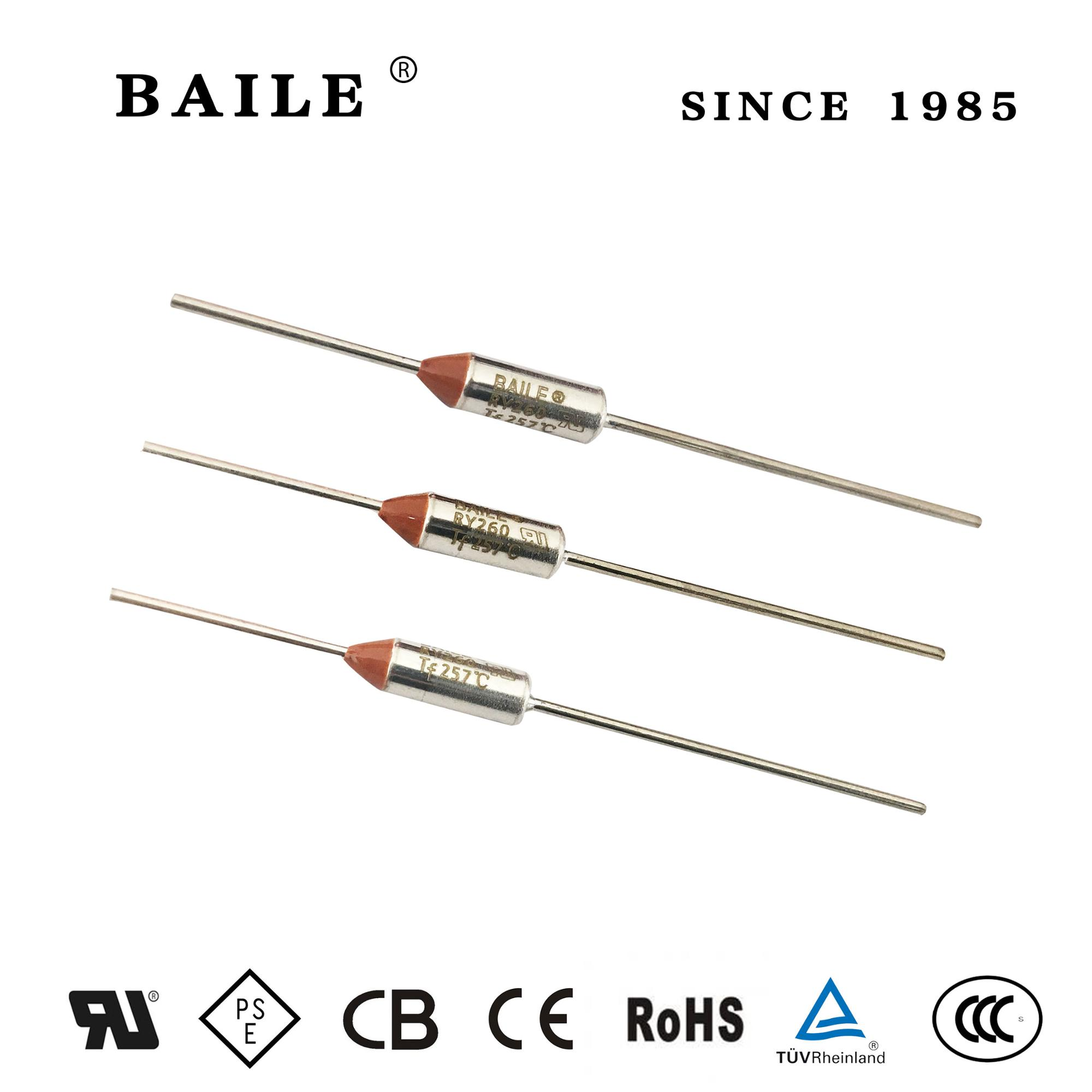 Baile Thermal Fuse Series Ry260ul 10a 15a 120v 250v