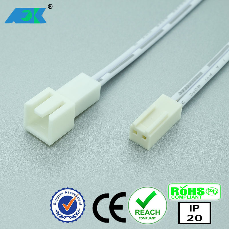 dongguan 24v low voltage led under cabinet lights professional oem led wiring harness conector buy mini molex 2pin female socket conector led