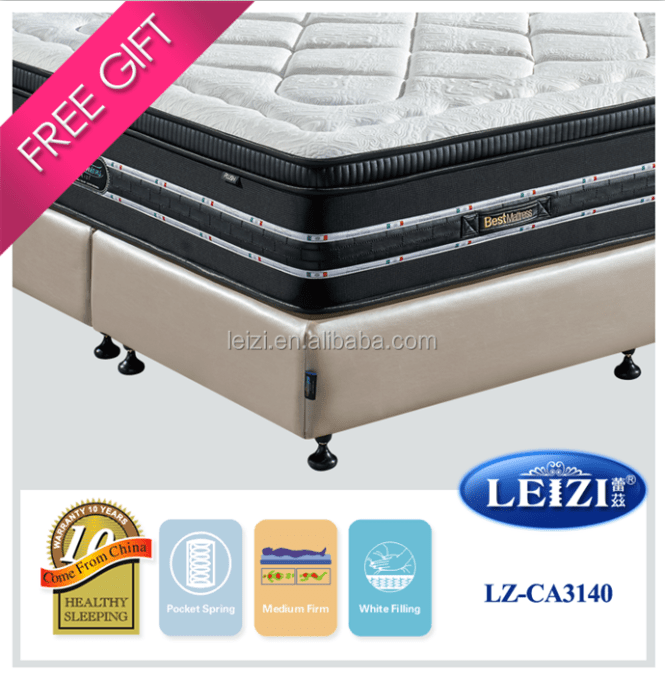 2016 Top Quality Queen Bed Size Mattress Product On Alibaba