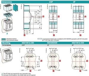 Without Trip Unit Lv432808 Compact Nsx630n 4p630a