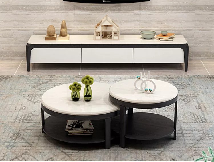 inner decoration modern design wooden round table tv stand unit buy furniture tv stand coffee table modern simple tv stand wood tv cabinet product