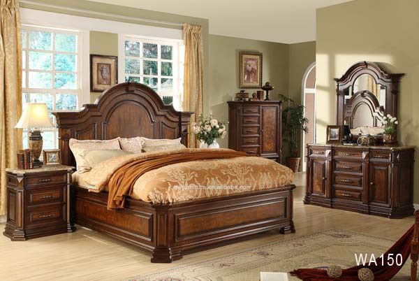 Manufacturers List Cheap Price Solid Wood Bedroom
